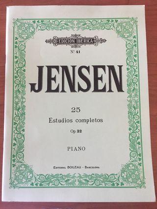 Estudios piano Jensen Op.32