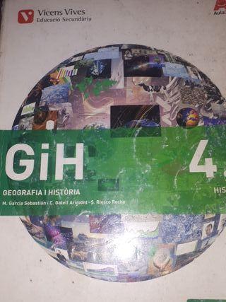 vendo libros geografía y historia