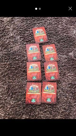 Gormiti Trading cards