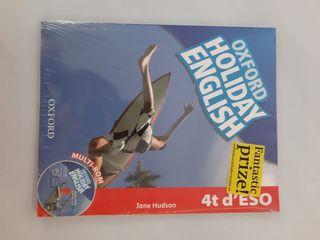 libro oxford holiday english 4t ESO