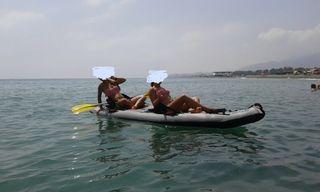 Kayak dos plaza hinchable