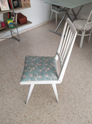 sillas estilo nórdico para restaurar tengo 2