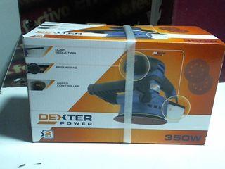 Lijadora excéntrica DEXTER POWER IV 125MM/350W (si