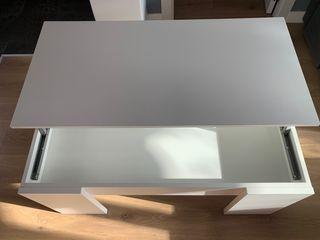 Mesa auxiliar de comedor blanca