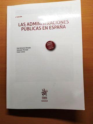 Administraciones Públicas en España