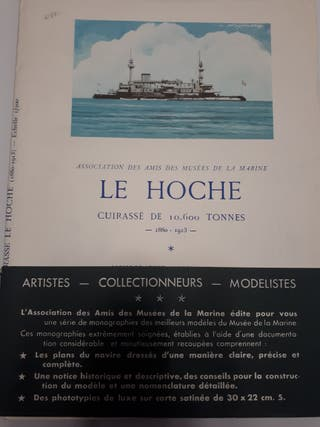 Planos barco de guerra 'Le Hoche'