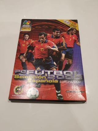 PCFUTBOL 2000 selección española
