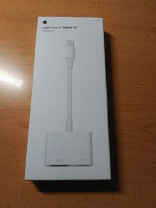 Adaptador Lightning a AV Digital (iPad, iPhone)