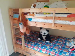 Literas 3 camas