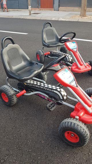 Karts de pedales para niños