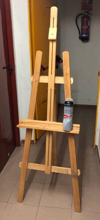Cabellete de pintura