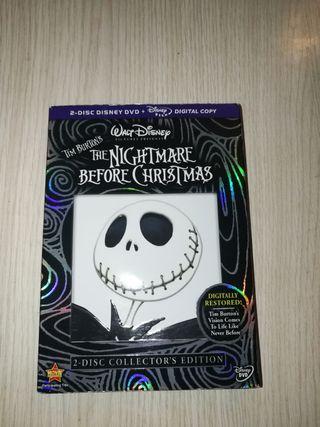 Pesadilla antes de Navidad dvd edición especial.