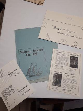 Planos barco de guerra sarraceno