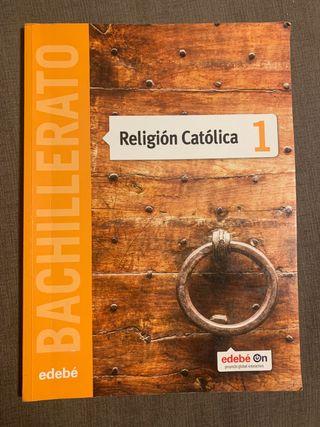 Libro religión católica edebé primero bachillerato