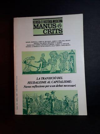 Manuscrits. Revista d'història moderna. Libro