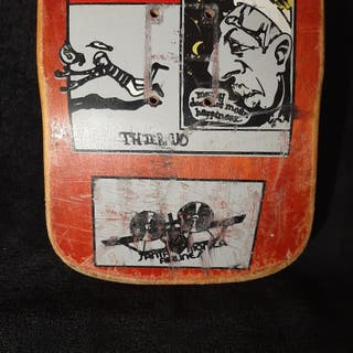 Tabla skate SANTA CRUZ de la Old School .