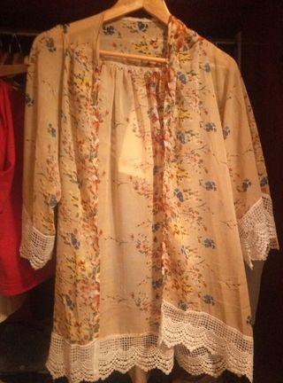 kimono, capa, salida de baño
