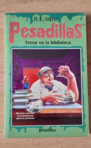 Pesadillas. Terror en la biblioteca.