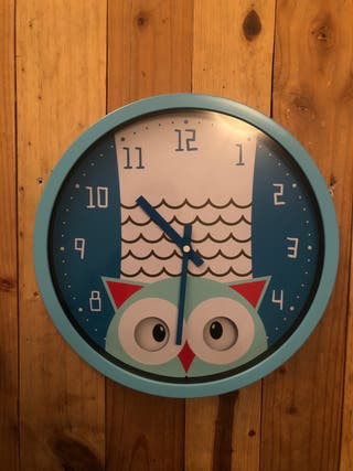 Reloj infantil búho
