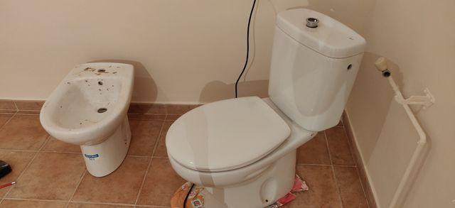 wc y bidé Roca
