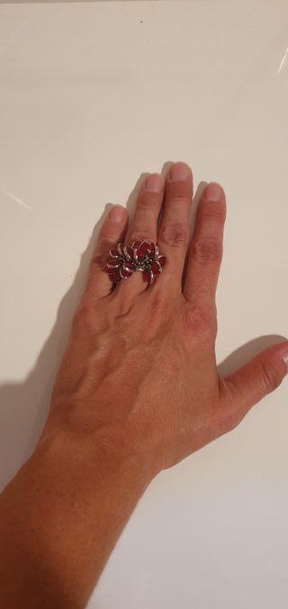 anillo acero swatch corazones