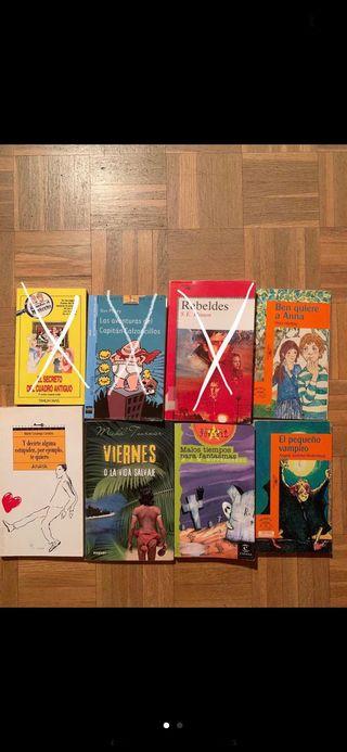 Libros juveniles en castellano