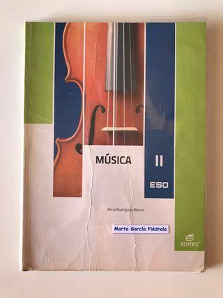 Libro 2º ESO. Música