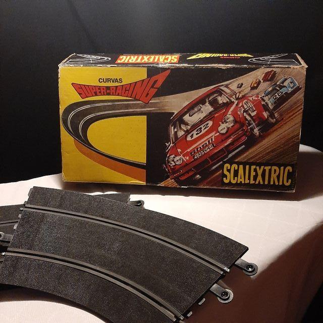 Curvas Super Racing de scalextric en caja Original