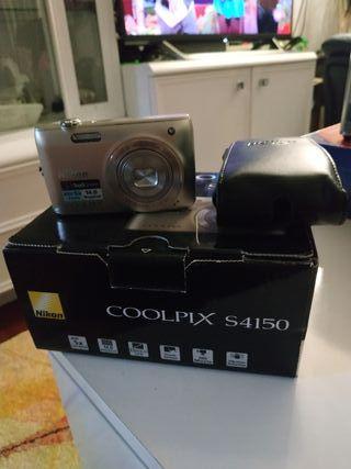 cámara de fotos nikon