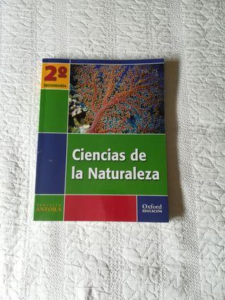 libro CIENCIAS DE LA NATURALEZA 2° ESO
