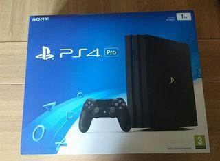 PS4 Pro 1 TB + 2 juegos