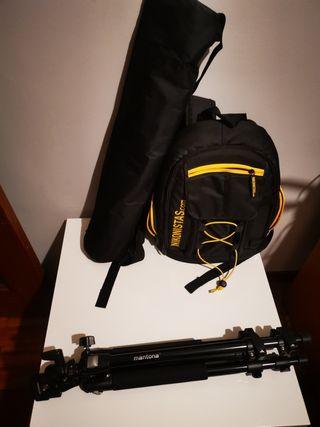 Reflex D3300 con 2 objetivos