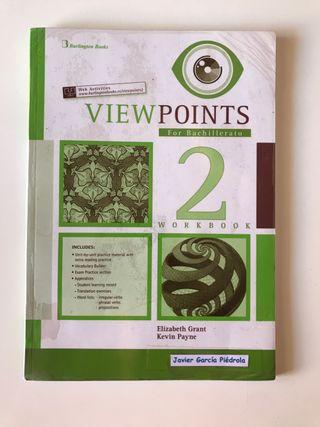 Libro 2º Bachillerato. Inglés. Viewpoint