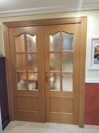 puertas dobles de comedor