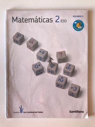Libros 2º ESO. Matemáticas