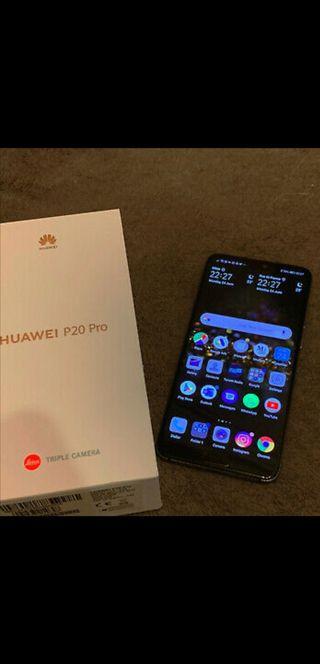 Huawei P20 pro (con seguro)