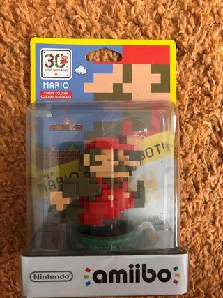 Amiibo Mario 8 bits 30 aniversacio