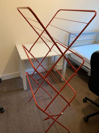 Cloth rack and pole
