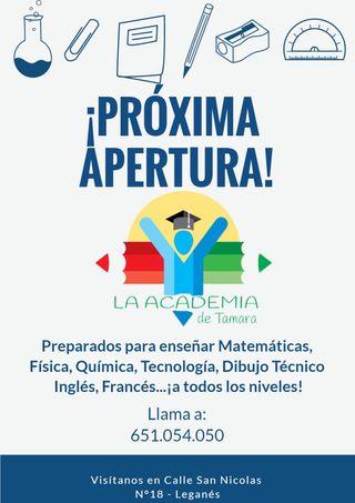 Academia en Leganés!
