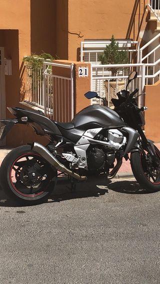 Kawasaki z750 limitación antigua 25kw