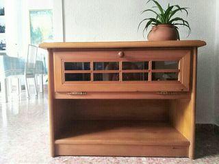 Mueble auxiliar aparador de madera