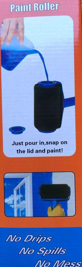 Paint roller rodillo pintura anti salpicadura