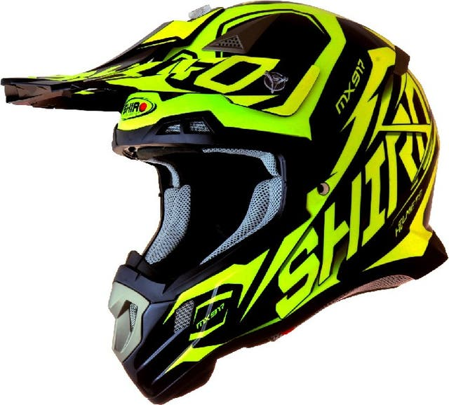 CASCO SHIRO MX-917 THUNDER