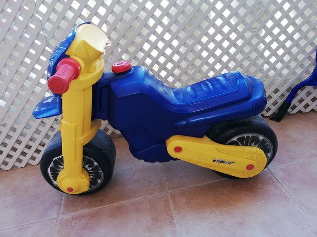 moto correpasillos niño