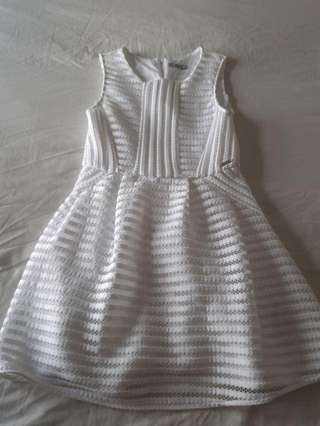 Vestido Blanco Niña Mayoral De Segunda Mano Por 15 En