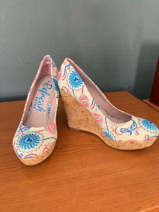 Zapato cuña n 40