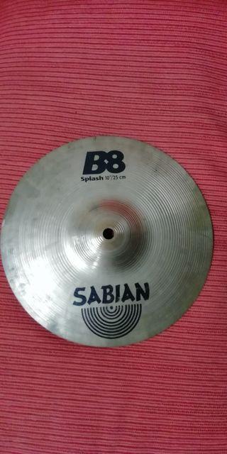 """Platillo splash Sabian B8 10""""."""