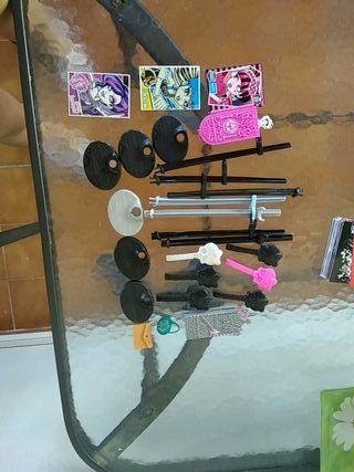 Pack múltiples accesorios Monster High