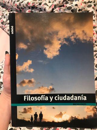 FILOSOFÍA Y CIUDADANÍA BACHILLERATO edebé