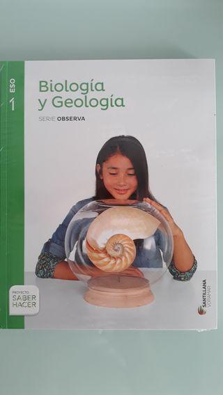 Libro 1° ESO. Bióloga y Geología. Santillana nuevo